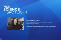 Science Spotlight lecture: Yael David, PhD