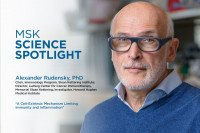 Science Spotlight lecture: Alexander Rudensky, PhD