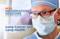 Patient Information Session: Lung Cancer and Lung Health