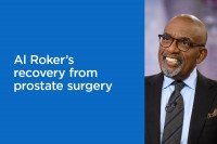 Al Roker's recovery from prostate surgery