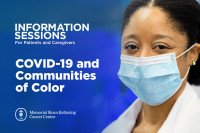 Information Session: COVID-19 and Communities of Color