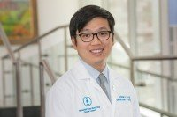 MSK neuro-oncologist Andrew Lin