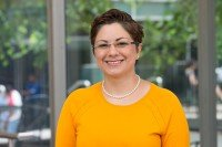MSK medical oncologist Azadeh Namakydoust