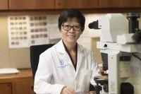 MSK breast pathologist Hong (Amy) Zhang