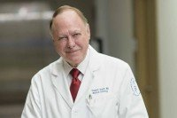 Memorial Sloan Kettering medical oncologist Stephen Veach
