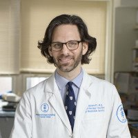 Memorial Sloan Kettering breast medical oncologist Christopher Klebanoff
