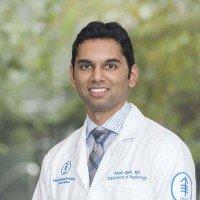 Memorial Sloan Kettering radiologist Akash Shah