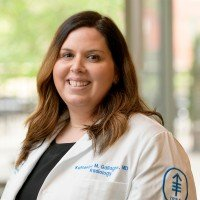 Memorial Sloan Kettering radiologist Katherine M. Gallagher