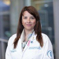 Memorial Sloan Kettering Cancer Center pathologist Marcia Edelweiss
