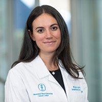Memorial Sloan Kettering radiologist Kristen Coffey