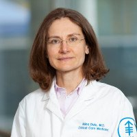 Memorial Sloan Kettering critical care physician Alina Dulu