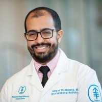 Memorial Sloan Kettering interventional radiologist Amgad Moussa