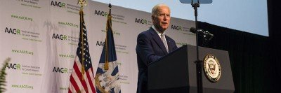 Vice President Joe Biden addressed members of the American Association for Cancer Research on Wednesday in New Orleans.