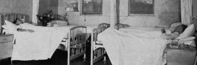 Total body irradiation unit at Memorial Hospital circa 1931