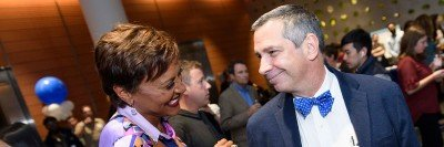 Robin Roberts and MSK's Sergio Giralt