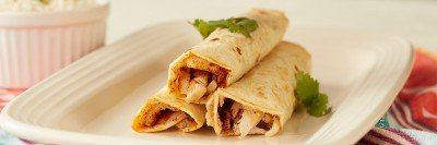 Rolled Chicken Tacos