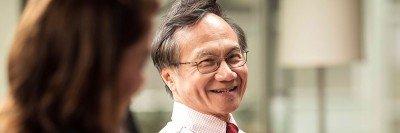 MSK medical oncologist Nai-Kong Cheung