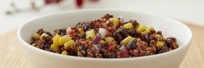 Black Beans, Corn, and Quinoa Salad