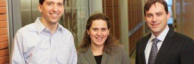 Pictured: Michael Berger, Agnès Viale & David Solit