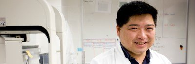 Cancer genomics researcher Timothy Chan
