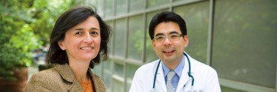 Beatriz Korc-Grodzicki, Chief of the Geriatrics Service, and Kouto Ito, a geriatrician on the service, specialize in the unique needs of older patients.