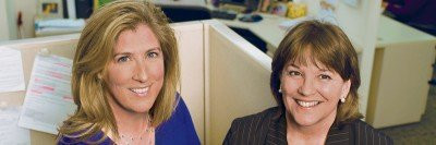 (From left) Patricia Desmond and Suzanne Carmody