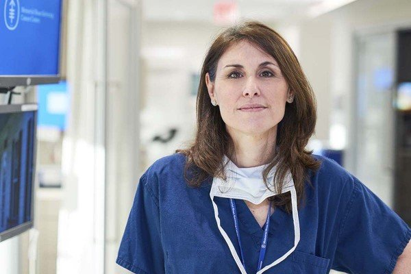Memorial Sloan Kettering breast surgical oncologist Laurie Kirstein