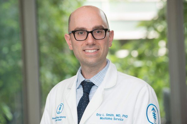MSK medical oncologist Eric Smith