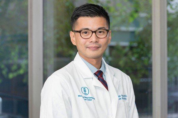 MSK radiation oncologist T. Jonathan Yang