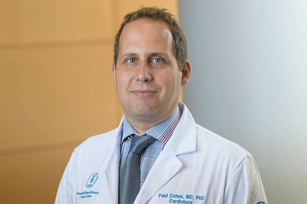 MSK cardiologist Paul Cohen