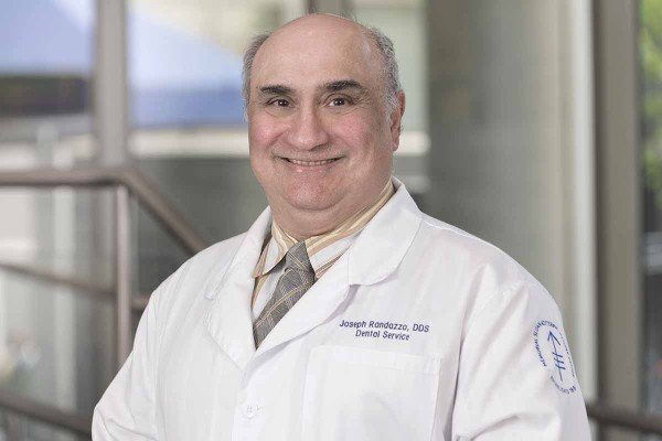 Memorial Sloan Kettering maxillofacial prosthodontist Joseph Randazzo