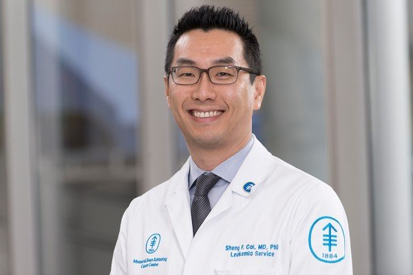 Memorial Sloan Kettering hematologic oncologist Sheng Cai