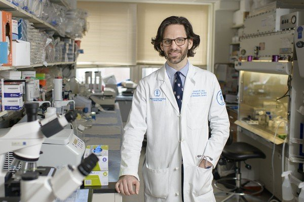 Memorial Sloan Kettering breast medical oncologist Christopher Klebanoff