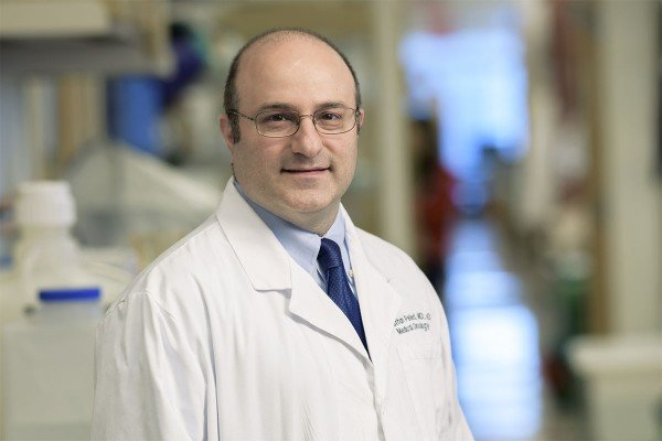 Memorial Sloan Kettering medical oncologist Jonathan Peled