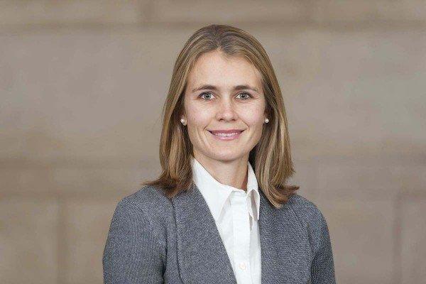 Memorial Sloan Kettering radiation oncologist Erin Gillespie