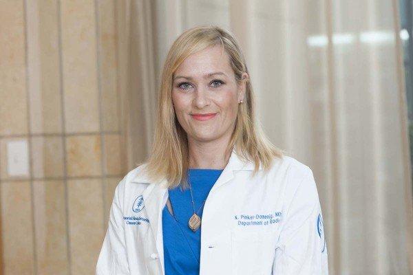 Memorial Sloan Kettering radiologist Katja Pinker-Domenig