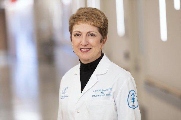 Memorial Sloan Kettering neuro-oncologist Lisa M. DeAngelis