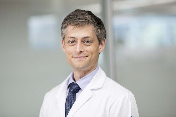 Memorial Sloan Kettering medical oncologist Aaron Mitchell