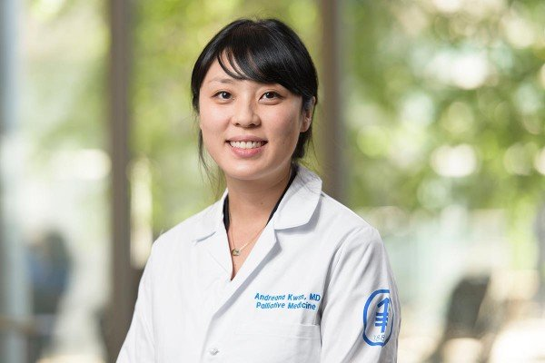 Memorial Sloan Kettering supportive care physician Andreana Kwon