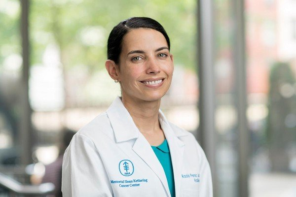 Memorial Sloan Kettering radiologist Rocio Perez Johnston