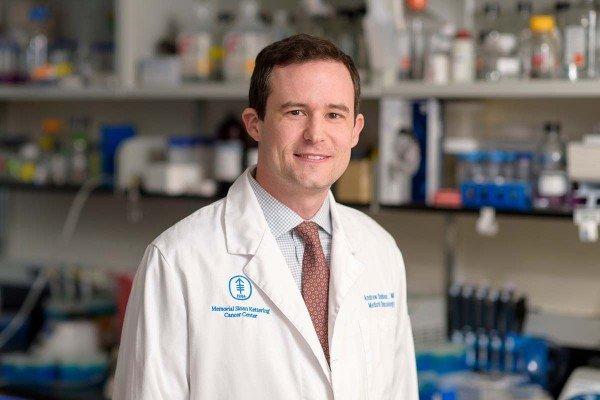 Memorial Sloan Kettering hematologic oncologist Andrew Dunbar