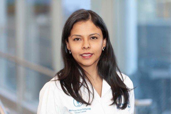 Memorial Sloan Kettering radiologist and nuclear medicine physician Sandra Huicochea Castellanos