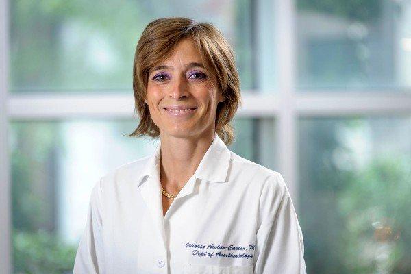 Memorial Sloan Kettering anesthesiologist Vittoria Arslan-Carlon