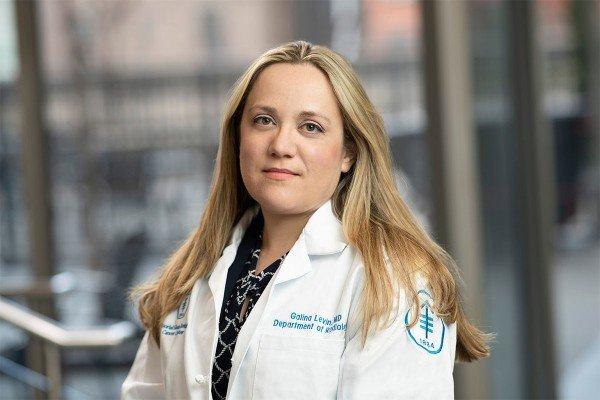 Memorial Sloan Kettering radiologist Galina Levin