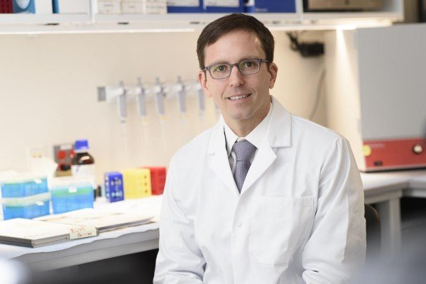 Pictured: Travis Hollmann, MD, PhD