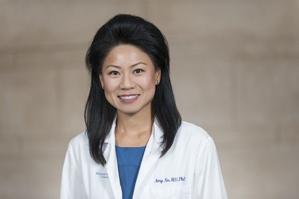Memorial Sloan Kettering radiation oncologist Amy Xu