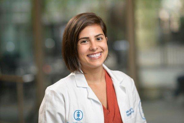 Memorial Sloan Kettering optometrist Julia Canestraro