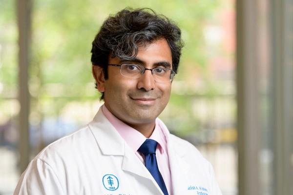 Memorial Sloan Kettering interventional radiologist Sirish Kishore