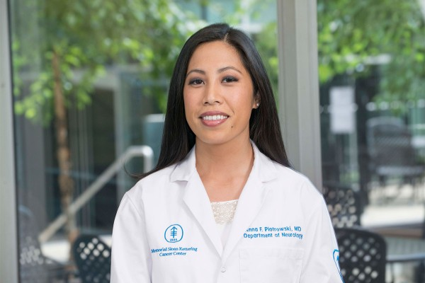 Memorial Sloan Kettering neuro-oncologist Anna Piotrowski