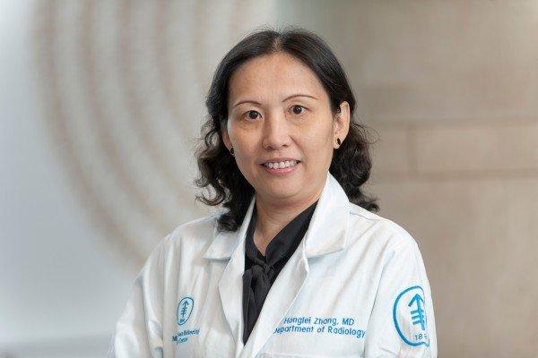 Memorial Sloan Kettering radiologist Honglei Zhang